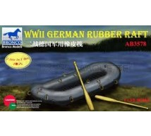 Bronco - German WWII Rubber raft (x2)
