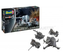 Revell - Flak 37 88mm & Sd Anh 202