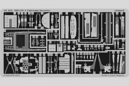 Eduard - Mig 29 A interieur (academy)