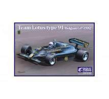 Ebbro - Lotus Type 91 Belgian GP 1982