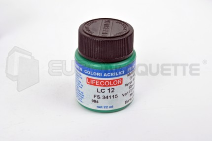Life Color - Vert foncé mat LC12 (pot 22ml)