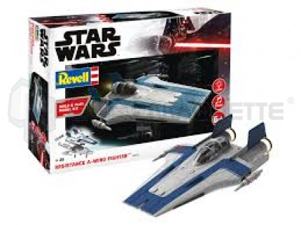 Revell - A-Wing Blue Build & Play