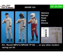 Gf Models - Pilote F1 & Options