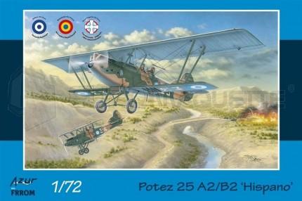 Azur frrom - Potez 25 A2/B2 Hispano