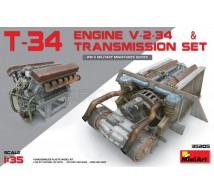 Miniart - T-34 V-2-34 engine & transmission