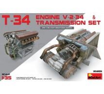 Miniart - T-34 V-2-34 engine & transmission