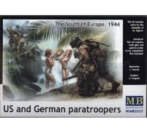 Master box - US & German Paratrooper 1944