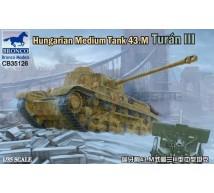 Bronco - Hungarian 43M Turan III tank