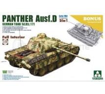 Takom - Panther Ausf D & interieur