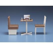 Hasegawa - Table & chaises restaurant 1/12