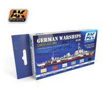 Ak interactive - Coffret German Warship