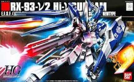 Bandai - HG RX-97 Hi-Nu Gundam (0158762)
