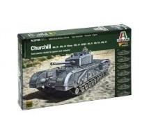 Italeri - Churchill tank 1/56