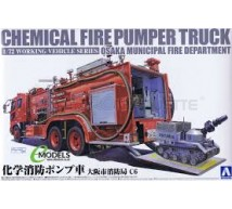 Aoshima - Japanese Chemical Fire pumper Truck