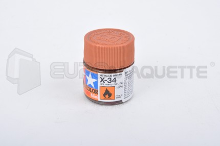 Tamiya - Brun Métal X-34 (pot10ml)