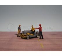 Gf Models - Tracteur de pont 1944/50