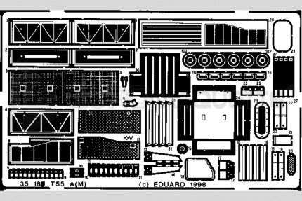 Eduard - T-55 A(M)   (esci/italeri)