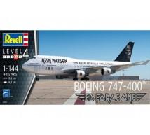 Revell - Boeing 747-400 IRON MAIDEN