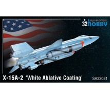 Special hobby - X-15A-2 White ablative coating