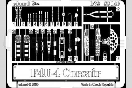 Eduard - F4U-4 Corsair (italeri)