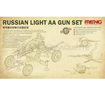 Meng - Russian light modern AA Gun Set