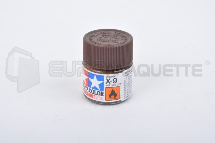 Tamiya - Brun X-9 (pot 10ml)