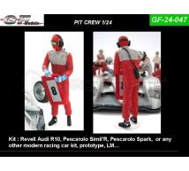 Gf Models - Pit crew & panneaux