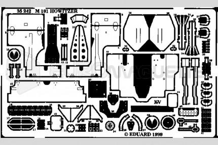 Eduard - M-101 Howitzer (italeri)