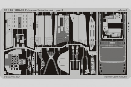 Eduard - Mig 29 A interieur (revell)