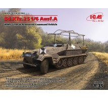 Icm - SdKfz 251/6 Ausf A Command vehicle