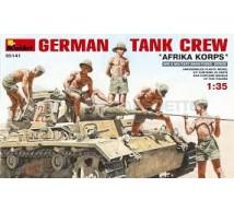 Miniart - DAK tank crew