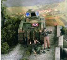 Verlinden - Tankistes Français Prisonniers