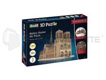 Reverll - Notre Dame Puzzle 3D