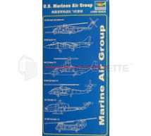 Trumpeter - Set avions US Marines 1/350