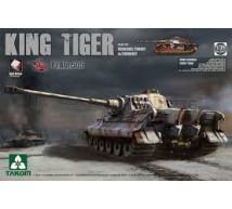 Takom - King Tiger Henschel Abt 505 zimmerit & interior
