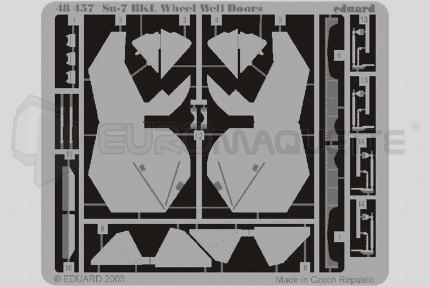 Eduard - Su-7 BKL wheel doors (KP)