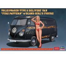 Hasegawa - VW Combi & Pin-up