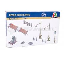 Italeri - Accessoires urbains 1/72