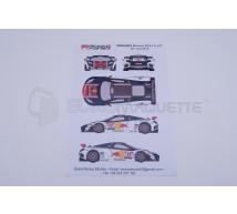 Racing decals 43 - Mc Laren Loeb Racing 2012