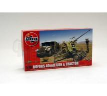 Airfix - Bofors gun & tractor