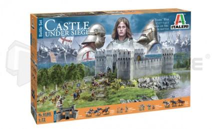 Italeri - Medieval castle under siège (100 years war)