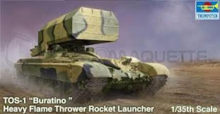 Trumpeter - TOS-1 MLRS mod 89