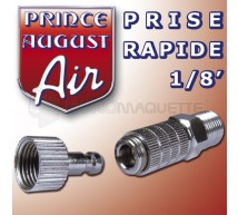 Prince August - Raccord rapide 1/8