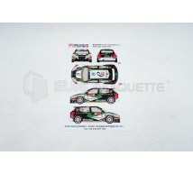 Racing decals 43 - Skoda Fabia S2000 Loix 2014