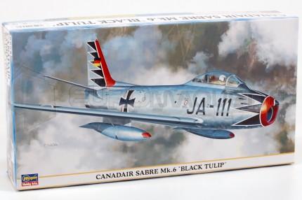 Hasegawa - F-86F Sabre Mk6black tul.