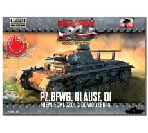 First to fight - Pz II ausf F D1