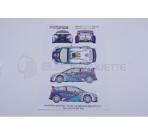 Racing decals 43 - Ford Fiesta 23 Catalunya 2013