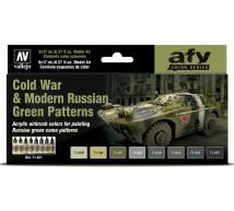 Vallejo - Coffret Cold War Tank Russian Colors