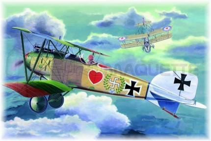 Eduard - Albatros D III  (profipack)
