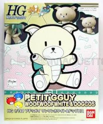 Bandai - Petit Guy Woofwhite & Dogcos (0212190)